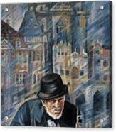 Blues Of Prague. Acrylic Print
