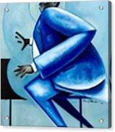 Blues/ Oscar Acrylic Print