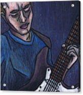 Blues Player Acrylic Print
