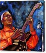 Blues Vibe Acrylic Print