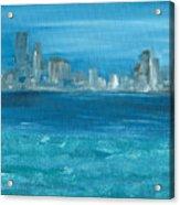 Bluesy Acrylic Print