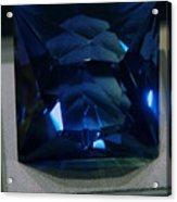Bluetiful Fluorite Acrylic Print