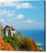 Bluffs Splendour - Scarborough Bluffs Acrylic Print