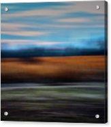 Blurred Field Acrylic Print