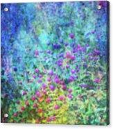 Blurred Garden 4798 Idp_2 Acrylic Print
