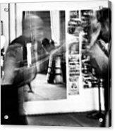 Blurred Training Acrylic Print