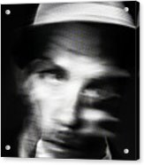 Blurry Mr Kwiecinski Acrylic Print