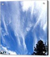 Blustery Sky Acrylic Print