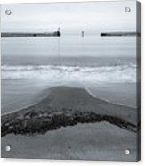 Blyth Beach And Pier #5 Acrylic Print