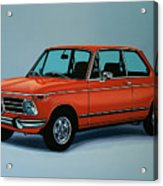Bmw 2002 1968 Painting Acrylic Print