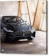 Bmw Concept 8 Series 4k Acrylic Print