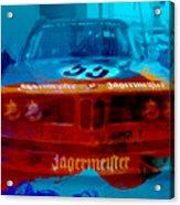 Bmw Jagermeister Acrylic Print by Naxart Studio