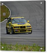 Bmw M3 Tire Rack Acrylic Print