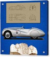 Bmw Mille Miglia Poster Acrylic Print