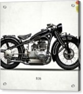 The R16 Motorcycle Acrylic Print