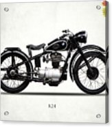The R24 Motorcycle Acrylic Print