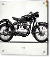 The R26 Motorcycle Acrylic Print