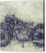 Bmw R32 - 1919 - Motorcycle Poster 1 - Automotive Art Acrylic Print