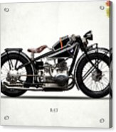 The R47 Motorcycle Acrylic Print