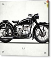 The R51 Motorcycle Acrylic Print