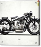 The R62 Motorcycle Acrylic Print