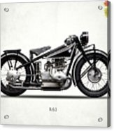 The R63 Motorcycle Acrylic Print