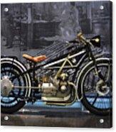 Bmw Vintage Motorcycle Acrylic Print