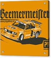 Bmw320 Gr5 Racing Acrylic Print