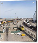 Bnsf Northtown Yard 4 Acrylic Print