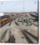 Bnsf Northtown Yard 6 Acrylic Print