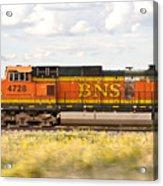 Bnsf Railway Engine Acrylic Print