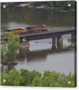 Bnsf Train 6686 A Acrylic Print