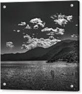 Bnw Lago De Coatepeque - El Salvador V Acrylic Print