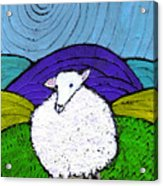 Bo Peeps Lost Sheep Acrylic Print