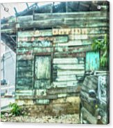 Boarded Up Acrylic Print