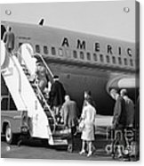 Boarding American Airlines Acrylic Print