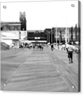 Boardwalk Blur Acrylic Print