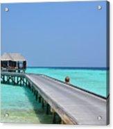 Boardwalk In Paradise Acrylic Print