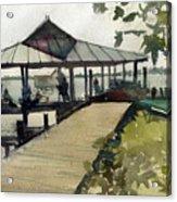 Boardwalk Sarasota Acrylic Print
