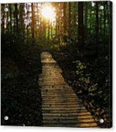Boardwalk To The Sun Acrylic Print