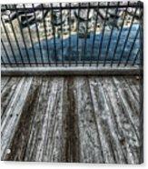 Boardwalk Acrylic Print