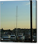 Boat Harbor Acrylic Print