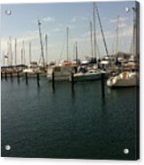 Boat Harbour  Acrylic Print