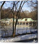 Boat House Central Park Ny Acrylic Print