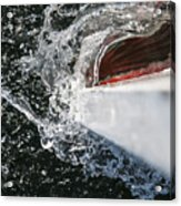 Boat In Water Acrylic Print