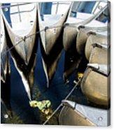 Boat Load Of Reflections Acrylic Print