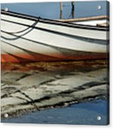 Boat Reflected Acrylic Print