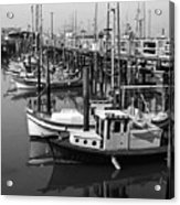 Boat Reflections Acrylic Print