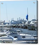 Boat Show On The Bay Acrylic Print