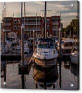 Boat Slip Acrylic Print
